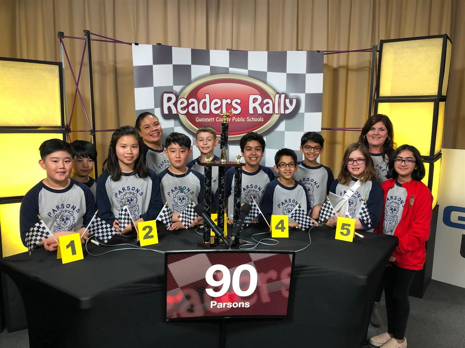 Readers Rally Team