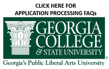 Link to PDF of Georgia College and State University Application Processing Frequently Asked Questions