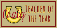 Teacher of the Year icon