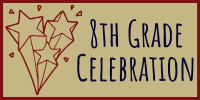 8th Grade Celebration logo