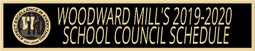 school council schedule