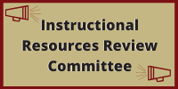 Instructional Resource Review Committee